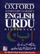 Salim Rahman - Oxford Elementary Learner's English-Urdu Dictionary - 9780195793352 - V9780195793352