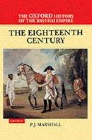 - The Eighteenth Century - 9780198205630 - KEX0299241