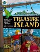 Stevenson, Robert Louis, Baker, Chris - Project X Origins Graphic Texts: Dark Red Book Band, Oxford Level 17: Treasure Island - 9780198367642 - V9780198367642