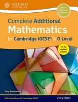 Beadsworth, Tony - Complete Additional Mathematics for Cambridge IGCSE & O Level - 9780198376705 - V9780198376705