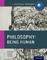 Le Nezet, Nancy, White, Chris, Lee, Daniel, Williams, Guy - IB Philosophy Being Human Course Book: Oxford IB Diploma Program - 9780198392835 - V9780198392835
