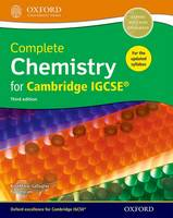 Gallagher, RoseMarie, Ingram, Paul - Complete Science for Cambridge IGCSE: Student Book - 9780198399148 - V9780198399148