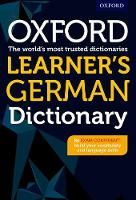 - Oxford Learner's German Dictionary - 9780198407973 - V9780198407973