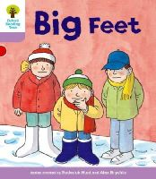 Hunt, Roderick; Howell, Gill - Oxford Reading Tree Stage 1+: First Sentences: Big Feet - 9780198480655 - V9780198480655