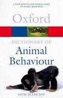 McFarland, David - Dictionary of Animal Behaviour - 9780198607212 - V9780198607212