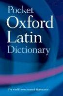- Pocket Oxford Latin Dictionary - 9780198610052 - V9780198610052