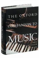 Latham, Alison - The Oxford Companion to Music - 9780198662129 - V9780198662129