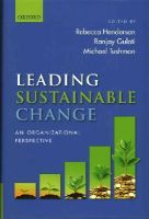 - Leading Sustainable Change: An Organizational Perspective - 9780198704072 - V9780198704072