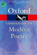 Hamilton, Ian, Noel-Tod, Jeremy - The Oxford Companion to Modern Poetry in English - 9780198704850 - V9780198704850