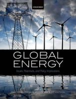 - Global Energy: Issues, Potentials, and Policy Implications - 9780198719533 - V9780198719533