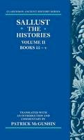 Sallust - 2: The Histories: Volume II: Books iii-v (Clarendon Ancient History Series) - 9780198721437 - V9780198721437