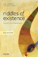 Conee, Earl, Sider, Theodore - Riddles of Existence: A Guided Tour of Metaphysics - 9780198724049 - V9780198724049