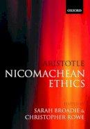 Aristotle - Aristotle - Nicomachean Ethics - 9780198752714 - V9780198752714