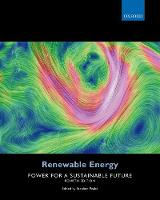 - Renewable Energy: Power for a Sustainable Future - 9780198759751 - V9780198759751