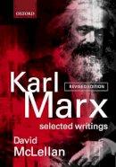 Marx, Karl - Karl Marx - 9780198782650 - V9780198782650