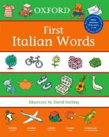 - First Italian Words - 9780199111008 - V9780199111008