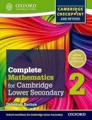 Barton, Deborah - Oxford International Maths for Cambridge Secondary 1 Student Book 2: For Cambridge Checkpoint and Beyond - 9780199137077 - V9780199137077