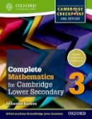 Barton, Deborah - Oxford International Maths for Cambridge Secondary 1 Student Book 3 - 9780199137107 - V9780199137107
