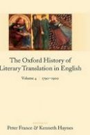 - The Oxford History of Literary Translation in English - 9780199246236 - V9780199246236