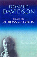 Davidson, Donald - Essays on Actions and Events - 9780199246274 - V9780199246274