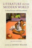 - Literature in the Modern World - 9780199253012 - V9780199253012
