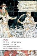 Plato - Defence of Socrates, Euthyphro, Crito - 9780199540501 - V9780199540501