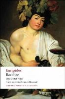 Euripides - Bacchae and Other Plays - 9780199540525 - V9780199540525