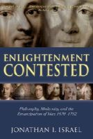Israel, Jonathan I. - Enlightenment Contested - 9780199541522 - V9780199541522