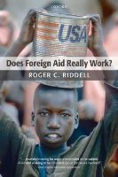 Riddell, Roger C. - Does Foreign Aid Really Work? - 9780199544462 - V9780199544462