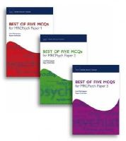 Palaniyappan, Lena, Krishnadas, Rajeev - Best of Five MCQs for MRCPsych Papers 1, 2 and 3 Pack (Oxford Specialty Training) - 9780199553624 - V9780199553624