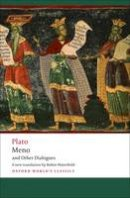 Plato - Meno and Other Dialogues - 9780199555666 - V9780199555666
