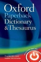 Oxford Dictionaries - Oxford Paperback Dictionary & Thesaurus - 9780199558469 - V9780199558469