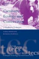 Boitani, Luigi, Powell, Roger A. - Carnivore Ecology and Conservation - 9780199558537 - V9780199558537