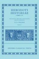 - Herodoti Historiae: Libri I-IV (Oxford Classical Texts) - 9780199560707 - V9780199560707
