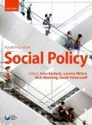 - Social Policy - 9780199570843 - V9780199570843