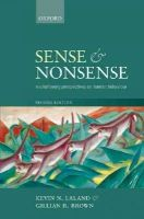Laland, Kevin N.; Brown, Gillian - Sense and Nonsense - 9780199586967 - V9780199586967