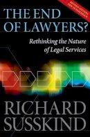 Susskind, Richard E. - The End of Lawyers? - 9780199593613 - V9780199593613