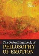 - The Oxford Handbook of Philosophy of Emotion - 9780199654376 - V9780199654376