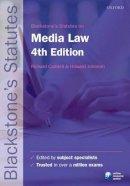 - Blackstone's Statutes on Media Law (Blackstone's Statute Series) - 9780199656332 - V9780199656332