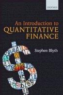 Blyth, Stephen - An Introduction to Quantitative Finance - 9780199666591 - V9780199666591