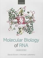 Elliott, David, Ladomery, Michael - Molecular Biology of RNA - 9780199671397 - V9780199671397