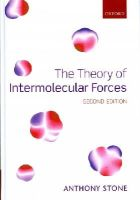 Stone, Anthony - The Theory of Intermolecular Forces - 9780199672394 - V9780199672394