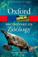 Allaby, Michael - Dictionary of Zoology - 9780199684274 - V9780199684274