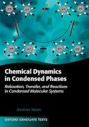 Nitzan, Abraham - Chemical Dynamics in Condensed Phases - 9780199686681 - V9780199686681