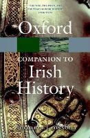 - The Oxford Companion to Irish History (Oxford Paperback Reference) - 9780199691869 - V9780199691869