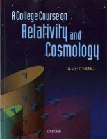 Cheng, Ta-Pei - A College Course on Relativity and Cosmology - 9780199693412 - V9780199693412