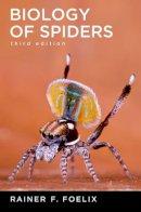 Foelix, Rainer - Biology of Spiders - 9780199734825 - V9780199734825