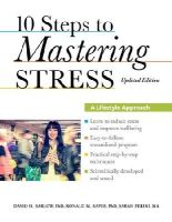 Barlow, David H., Rapee, Ronald M., Perini, Sarah - 10 Steps to Mastering Stress: A Lifestyle Approach, Updated Edition - 9780199917532 - V9780199917532