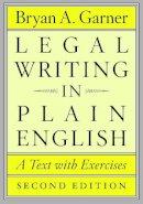 Garner, Bryan A. - Legal Writing in Plain English - 9780226283937 - V9780226283937