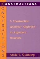 Goldberg, Adele - Constructions - 9780226300863 - V9780226300863